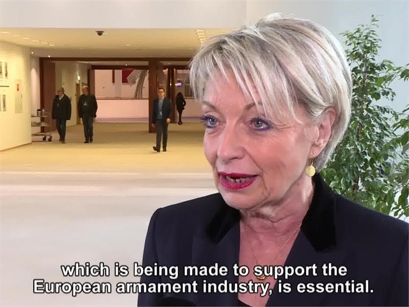 EPP TV Newsroom : Boosting Europe's defence capabilities