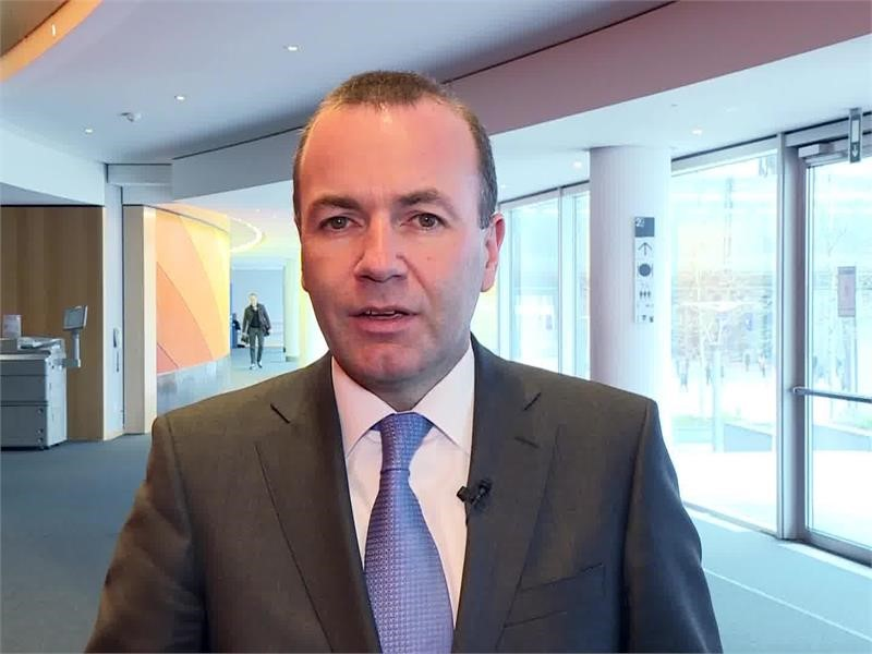 <b>EPP</b> TV Newsroom : <b>EPP</b> Group Chairman Manfred Weber: EU is ...
