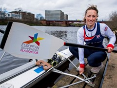 Scots rowing sensation Karen Bennett is Glasgow 2018 ambassador