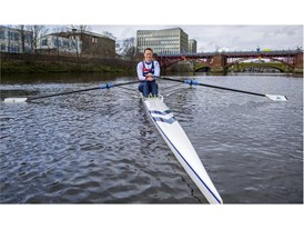Scottish Rowing star Karen Bennett 8