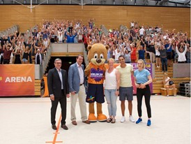 Berlino and friends on hand for Berlin 2018 European Athletics Championships meet-and-greet