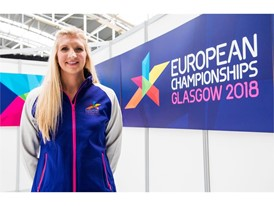 Rebecca Adlington OBE at the Glasgow 2018 Uniform launch