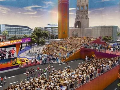 European Mile to bring athletes, culture to Breitscheidplatz square at Berlin 2018