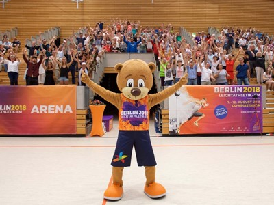 European Athletics Championships volunteer clothing unveiled