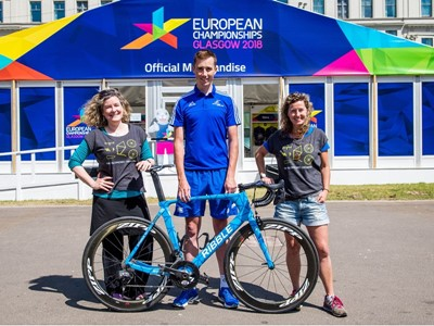 Cycling orchestra trumpets one month to go until European Championships