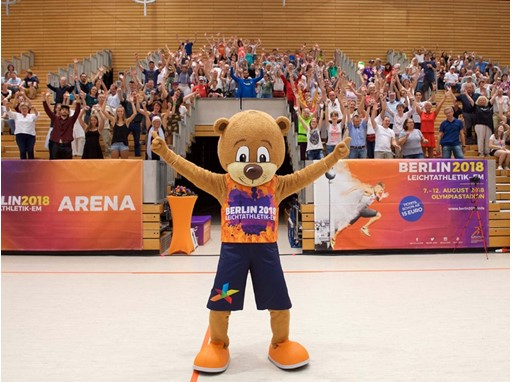 Berlino shows off Berlin 2018 European Athletics Championships volunteer clothing