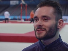 #TheMoment of the Week: Gymnasts James Hall, Amy Tinkler and Dominick Cunningham look ahead to European Championships