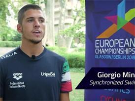 Georgio Minisini Interview (Long) - FINA World Championships 2017