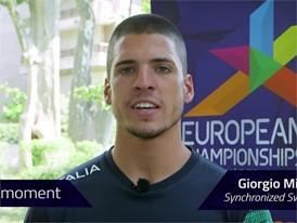 Georgio Minisini Interview (Short) - FINA World Championships 2017