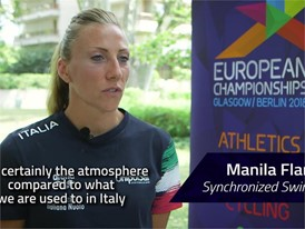 Manila Flamini Interview (Long) - FINA World Championships 2017