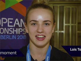 Lois Toulson Interview (Short) - FINA World Championships 2017