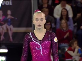 Angelina Melnikova - Russia - 2017 European Champion - On Floor