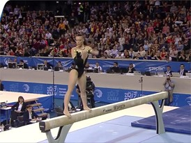 Catalina Ponor - Romania - 2017 European Champion - Beam