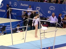 Nina Derwael - Belgium - 2017 European Champion - Uneven Bars
