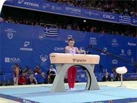 David Belyavskiy - Russia - 2017 European Champion - Pommel Horse