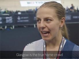 British cycling stars look ahead to Glasgow 2018