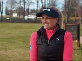 Carly Booth - Glasgow 2018 European Championships Golf Ambassador