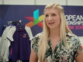 Rebecca Adlington interview (unedited footage)