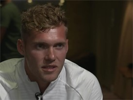 FRANCE'S KEVIN MAYER (DECATHLETE, 2017 WORLD CHAMPION) ON THE MOOD IN THE FRENCH TEAM