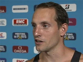 Renaud Lavillenie FRA and memories of the IAAF World Championships Berlin 2009