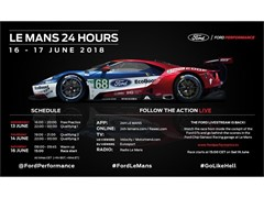 Ford Prepared for Toughest Le Mans 24 Hours Yet