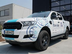 Ford Promotes Cyclist and Driver Harmony with Special Ranger Pickup for Tour de France