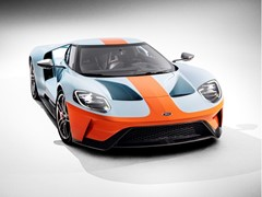 New 2019 Ford GT Heritage Edition Honors Most Famous Paint Scheme in Motorsports