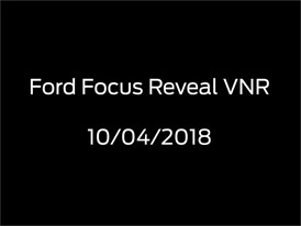 Ford 2018 Focus Video News Release