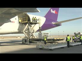 FedEx Panda Express arrives in Paris