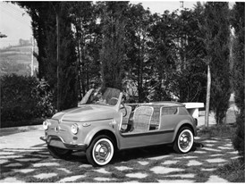 "Historic Fiat 500 Jolly ""Spiaggina"""