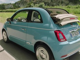 Fiat 500 Spiaggina Clip with Music