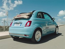 Fiat 500 Spiaggina Driving Footage