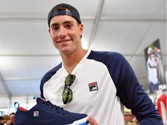 FILA Athlete John Isner Helps to Unveil New Heritage Tennis Collections and FILA x BNP Paribas Open Footwear Collaboration