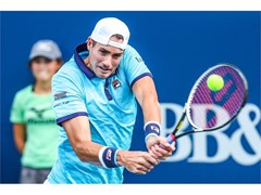 FILA's John Isner Wins BB&T Atlanta Open Title