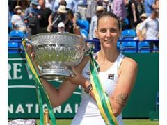 FILA's Karolina Pliskova Wins Eastbourne Title