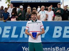 Opelka Serves His Way to Delray Beach Title