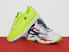 FILA's Neon Drop Features the Ray Tracer and Tennis 88