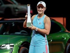 FILA's Ash Barty Shines Again, Wins Porsche Tennis Grand Prix in Tournament Debut