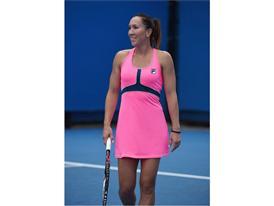 Jelena Jankovic Debuts the FILA Tennis Ready, Set, Glow! Collection