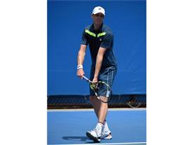 Sam Querrey Debuts the Fila Tennis Suit Up Collection