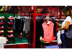FILA Brazil's booth at São Silvestre