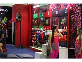 FILA Brazil booth