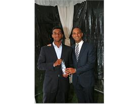FILA Honors Andrew Fenty with the 2015 R.E.A.C.H. Award at the JTCC's Annual Gala, The GEICO Champions Celebration