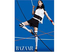 FILA X CMST Collection published by BAZAAR magazine