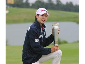 (Sponsored plyare by FILA KOREA)Jung Min Lee's third win this year. Won KLPGA Lotte Cantata Open