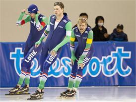 KNSB athletes in FILA apparel