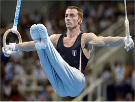 Italian gymnast Jury Chechi