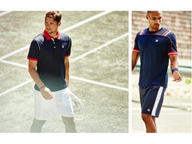 Images from the FILA men's Heritage lookbook