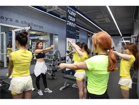FILA Korea hosts one-day fitness class for women