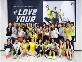 "FILA Korea and the FILA Fit Squad Host ""Love Your Sweat"" Event"